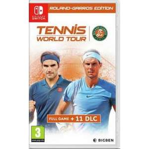 Nintendo Switch Tennis World Tour Roland Garos Edition £15.95 @ The Game Collection