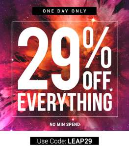 29% off everything at Bondara works on top of existing offers no minimum spend Lingerie & Adult Toys @ Bondara