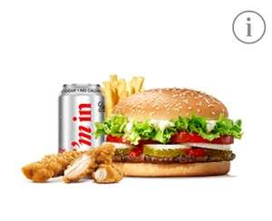 Buy a Whopper Meal @ Burger King and get 2 chicken strips for free - use voucher on app