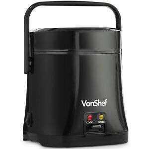 VonShef Rice Cooker Steamer Cooking Pot Non Stick Electric 200W 0.3L Compact + 2 Year Warranty £14.93 @ Domu-UK / Ebay