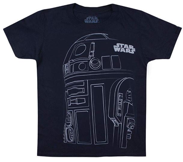 Boy's R2D2 Outline T-Shirt £7.99 @ Amazon (+£4.49 Non-prime)