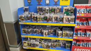 Assorted Funko Pop reduced £3.50 at Tesco Extra Ponders End