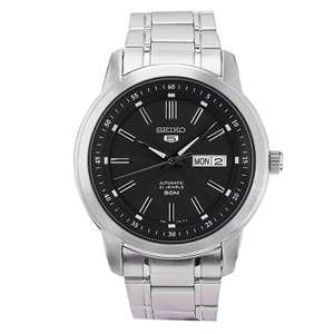 Seiko Sports 5 Automatic 21 Jewels Stainless Steel Bracelet Men's Watch, £72.24 at H.Samuel