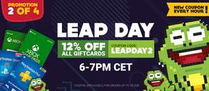 12% off all gift cards @ Gamivo (USE CODE)