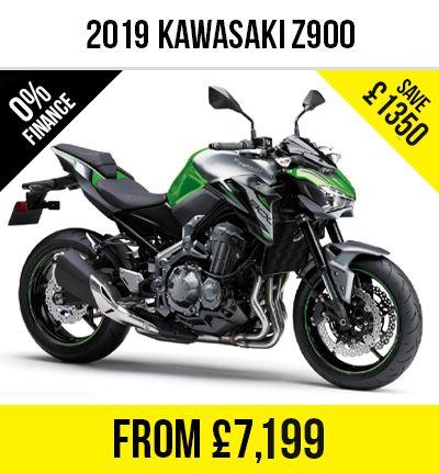 Kawasaki Z900 (Pre Reg 2019) £7,199 @ Motorcycle Direct
