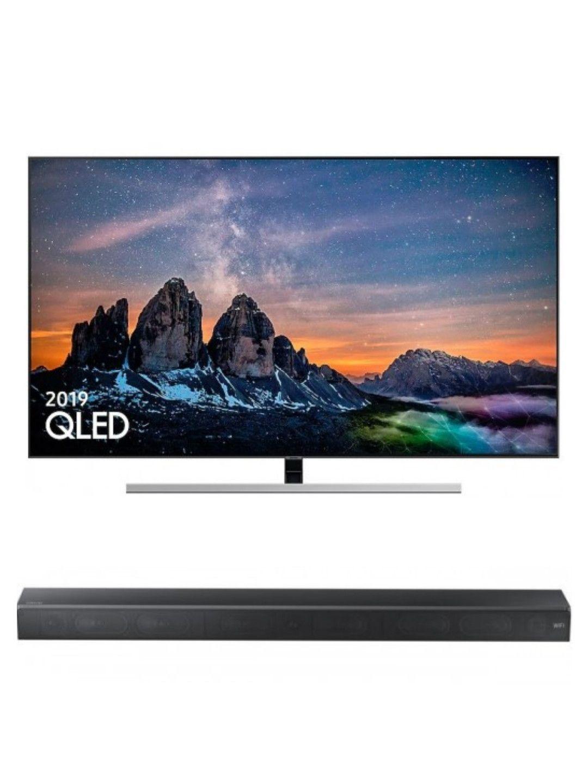 "Samsung QE65Q80RATXXU 65"" QLED 4K, HDR 1500 + Samsung Soundbar £1568 / £1299 With Cashback @ Reliant Direct"