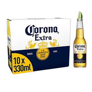 Corona 10x330ml bottles - £10 at Shell petrol station, Leicester