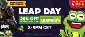 20% off all games up to €10 @ Gamivo with code