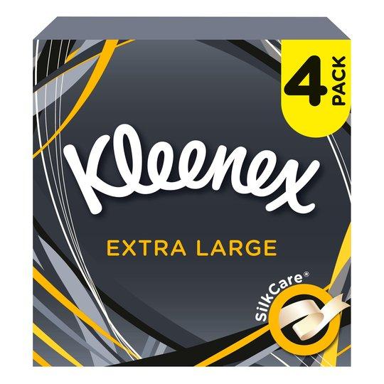 Kleenex Mansize Compact Quad £2 @ Tesco