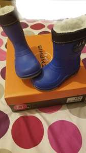 Deichmann Kids Blue Whale Boots £1 (From £12.99) instore