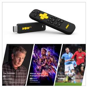 Now TV Stick with 1 months entertainment pass plus 300 clubcard points £25 @ Tesco