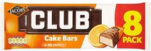 Mcvities Club Cake Bars (2 flavours) *8 for £1* instore @ Heron Foods, Nottingham