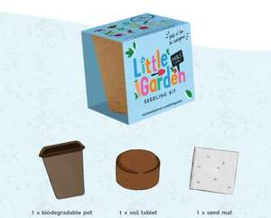 Free Little Gardens Seedling Kit with every £20 spent @ Marks & Spencer Foodhall