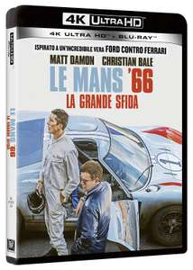 Le Mans '66 4K Ultra HD + Blu-ray £17.45 / 4K Steelbook £21 @ Amazon Italy