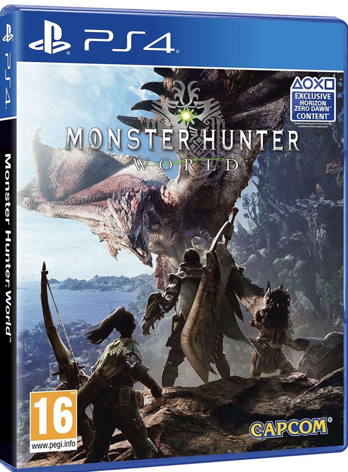 Monster Hunter World (PS4) £12.99 @ Playstation PSN