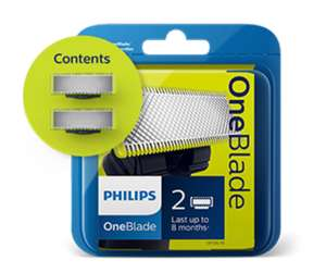 Phillips One Blade Replacement blades - 50% off your first pack
