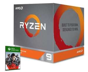 AMD Ryzen 9 3900X 3.8GHz, Turbo:4.6GHz,12 Core (Socket AM4) 24Threads,105W TDP + 3-month Xbox Game Pass [PC] - £399.99 with code @ CCLonline