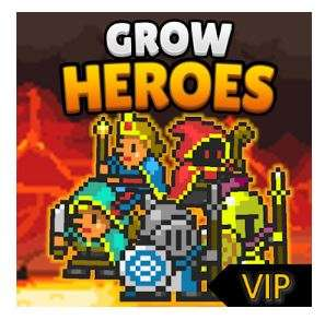 Grow Heroes VIP game currently free on Google Playstore