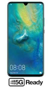 Huawei Mate 20 X 5G 100gb Data / Unlimited Minutes & Texts £39pm (24m) £965 Total (£29.16 pm after cashback) @ 3g.co.uk