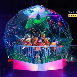 Crystal Maze Live Experience Manchester - 2 people £39.98 / 4 people £79.20 with code + one souvenir photograph @ Groupon