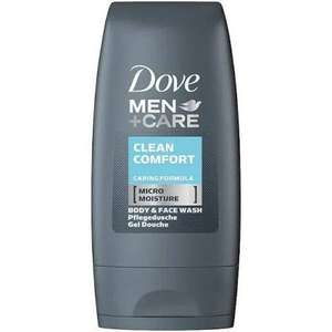 Dove Men Clean Comfort Body & Face Wash 55ml 39p / Anti perspirant deodorant 75ml 89p in-store @ Home Bargains Dundee