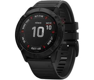 Garmin fēnix 6X Pro, Ultimate Multisport GPS Watch £536.77 (potentially £519.59 with Quidco) at Chain Reaction Cycles