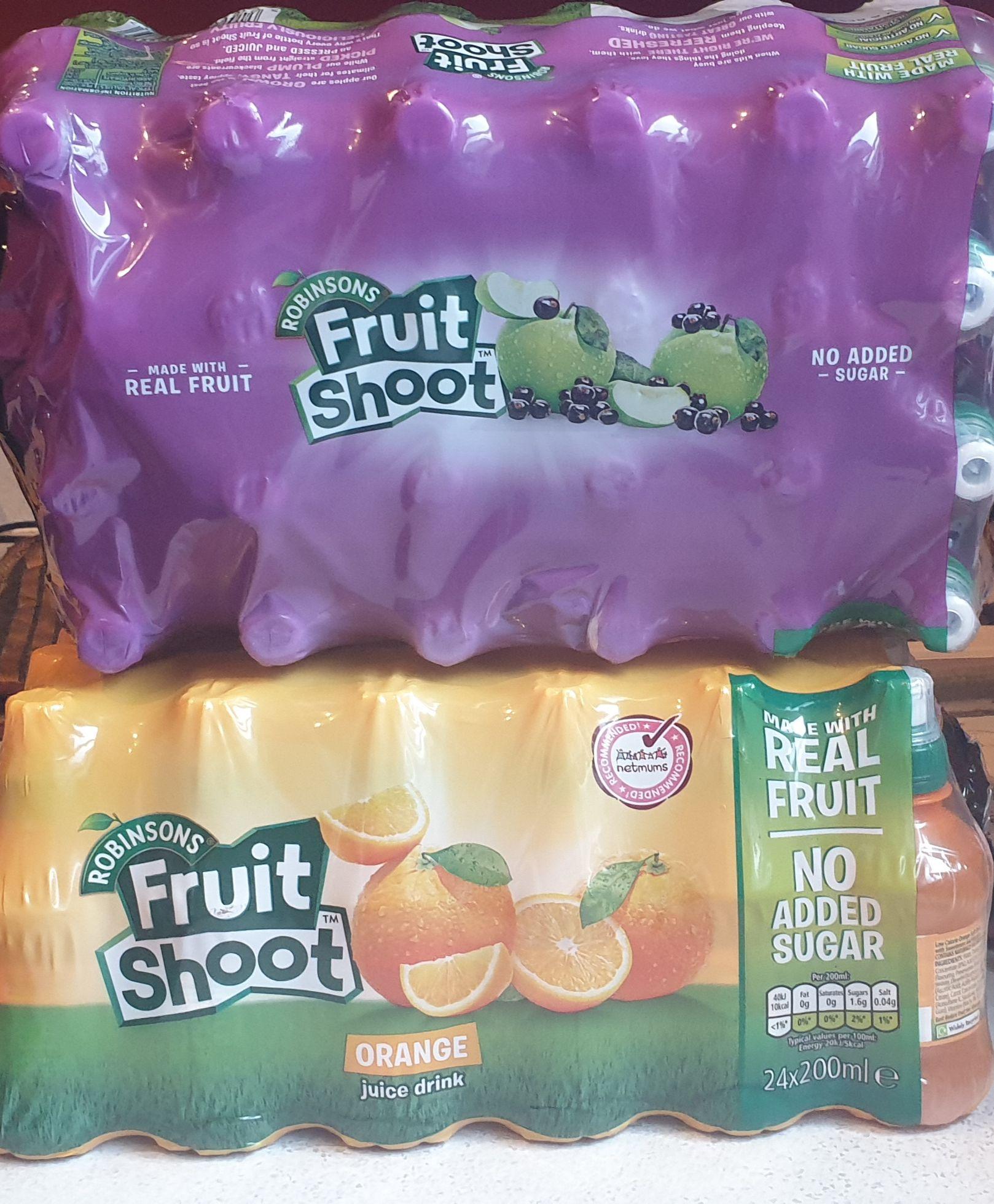 Fruit Shoot x 24 orange and blackcurrant £4.79 @ Lidl