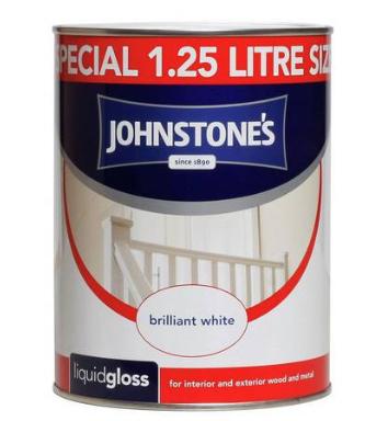 Johnstone's White Liquid Gloss (1.25L) £5.50 @ Argos