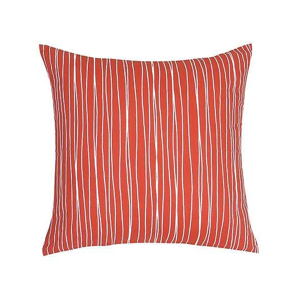 Essentials Orange Stripe Cushion £2.50 at Dunelm