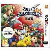 Super Smash Brothers 3DS Game featuring Pokemon £13.99 at Argos