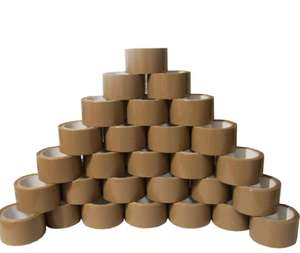 72 ROLLS STRONG BROWN PACKAGING TAPE 48MM x 66M @ Fodio - ebay uk