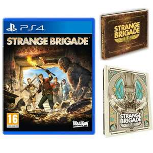 Strange Brigade With Limited Edition Steelbook & Artbook (PS4 & Xbox One) - £6.95 delivered at The Game Collection