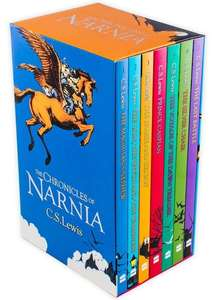 The Chronicles of Narnia 7 Book Box Set and A Free Selected Book for £6.50 Delivered at Books2Door