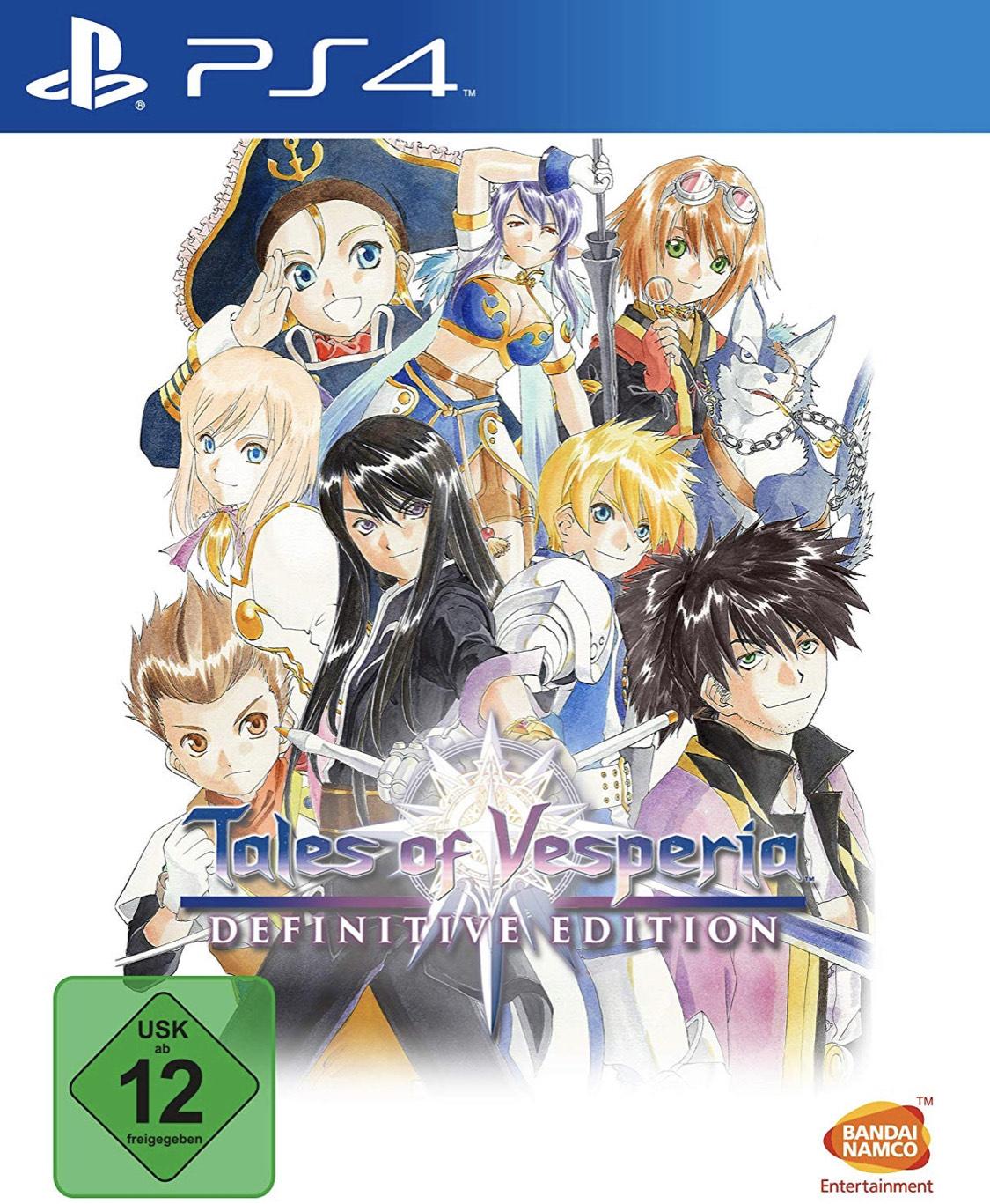 Tales of Vesperia Definitive Edition PS4 - £11.66 @ Amazon DE