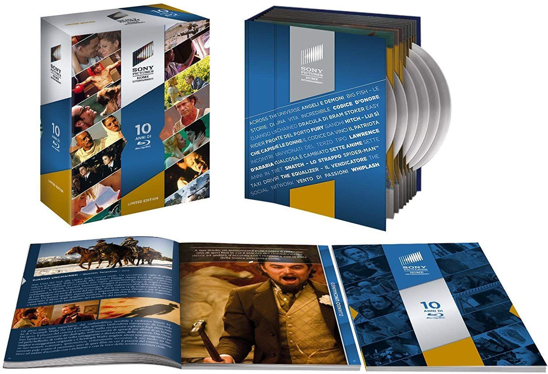 Sony Anniversary Blu-ray Collection 25 movies - £32.58 @ Amazon Italy