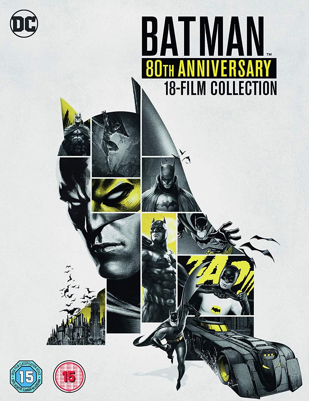 Batman 80th Annniversary Collection [DVD] [2019] £38.34 Amazon