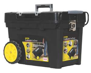 """Stanley Pro Mobile Tool Chest 24½"""" // Stanley Fatmax Tool Box 26¼"""" - £29.99 + Free Click and Collect @ Screwfix (More in OP)"""