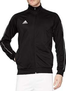 Men's Core adidas 18 Polyester Tracksuit Jacket red from £13 blue or black from £14.49 (+£4.49 Non-prime) @ Amazon