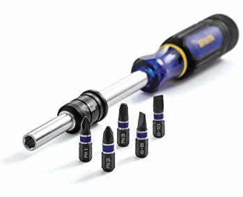Irwin 5-in-1 Extending Screwdriver (125mm-280mm Extendible) for £5.98 @ ToolStation