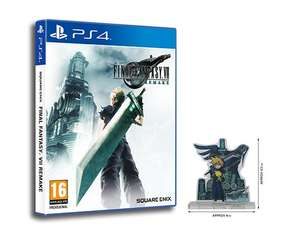 Final Fantasy VII Remake + Chocobo Chick Summon Materia DLC + FFVII Exclusive Cloud & Sephiroth Acrylic Stand - £47.85 @ ShopTo