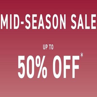 Mid-Season Sales Up to 50% off selected lines at Mamas & Papas Shop