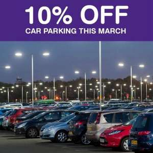 10% off car parking for the month of March 2020