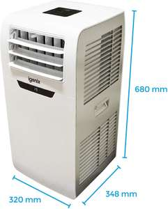 Igenix IG9901 3-in-1 Portable Air Conditioner with Cooling Fan - Used - Very Good £99.48 @ Amazon Warehouse