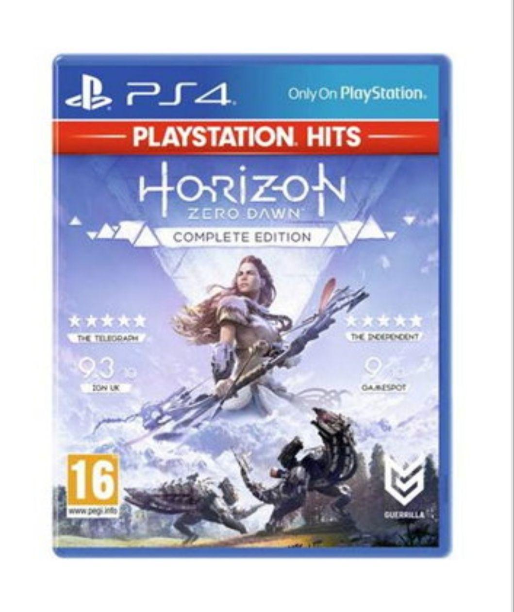 Horizon Zero Dawn Complete Edition - PlayStation Hits (PS4) - £11.85 @ Base