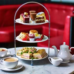 Afternoon Tea for Two at Café Rouge £15 with newsletter code @ Buyagift