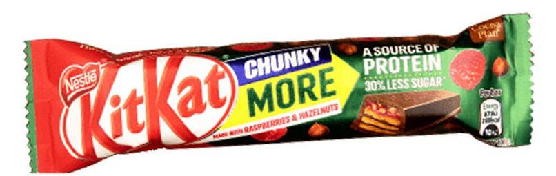 Kit Kat Chunky More Bar Raspberries & Hazelnuts 49p or 3 for £1 @ Heron Foods Kingston Upon Hull