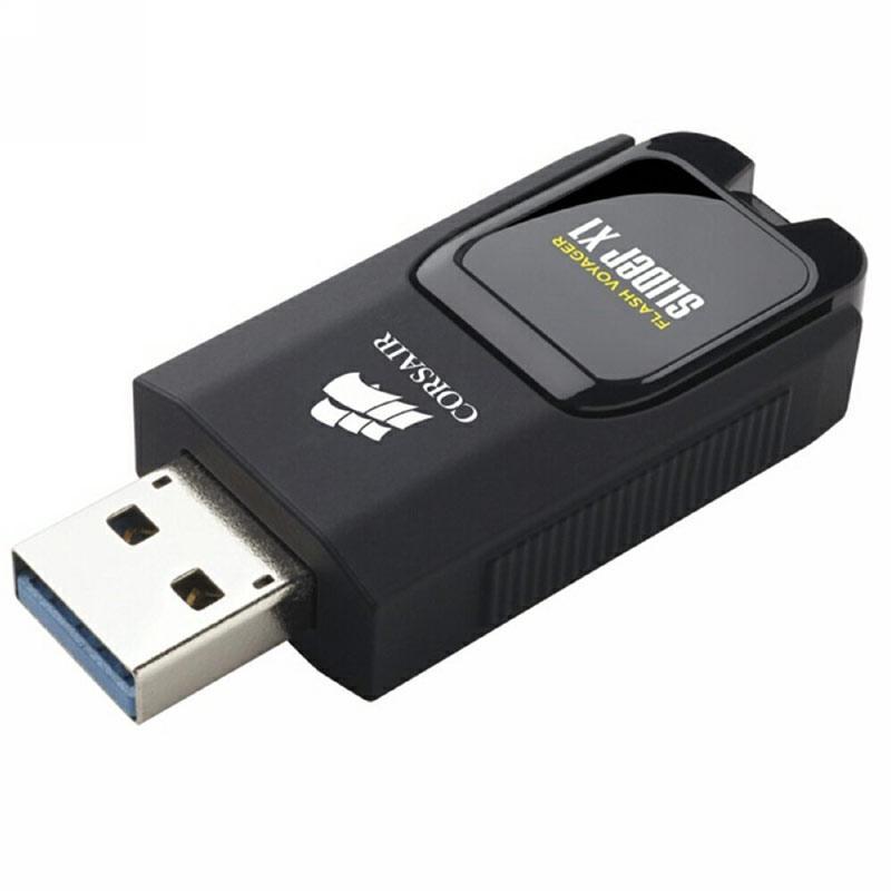 Corsair 32GB Flash Voyager Slider X1 USB 3.0 Flash Drive (Manufacturer Refurbished) £4.99 at MyMemory