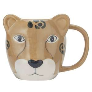 Leopard Shaped Mug £2 (Free Click & Collect) @ Argos