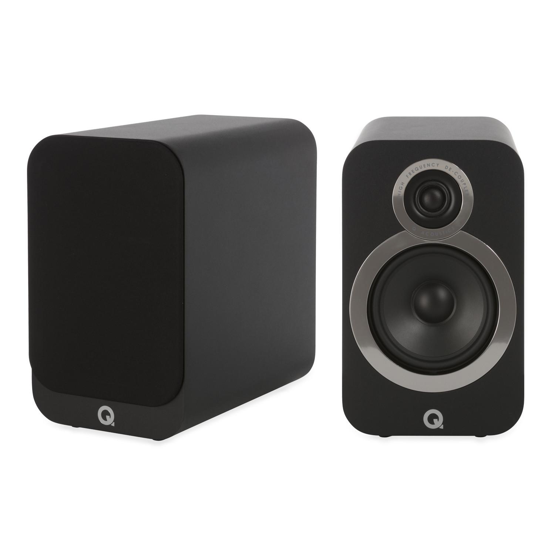 Q Acoustics Q3020i (Black) Speakers Per Pair £199 at Richer Sounds