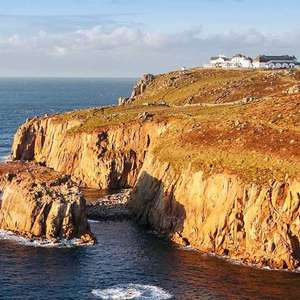 The Land's End Hotel Escape With Cream Tea & Full English Breakfast for two only £59 per couple @ Travelzoo